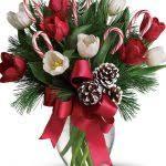 christmas flower arrangement christmas floral arrangements genie