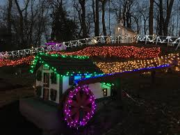 four lights houses tiny world in shippensburg will be decorated and lighted for the