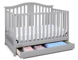 Graco Convertible Cribs by Graco Solano Crib W Drawer Pebble Grey Walmart Canada