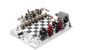 star wars chess sets lego ideas star wars chess the empire strike back