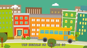 the wheels on the bus go round and round nursery rhymes u0026 kids