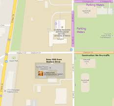 Illinois State University Map by Directions To Our Offices Illinois State Archaeological S