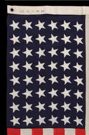 Mi Flag Jeff Bridgman Antique Flags And Painted Furniture 48 Star U S