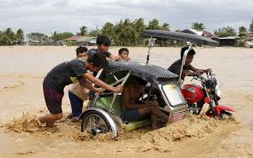 philippine tricycle philippines typhoon koppu retreats leaving at least 20 dead and
