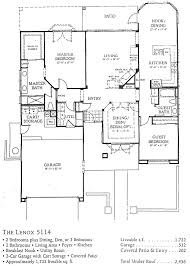 Lenox Floor Plan Floor Plans Sun City Palm Desert Homes