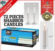 box shabbat candles ebay