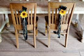Diy Chair Sashes Diy Chair Back Ideas Afloral Com Wedding Blog