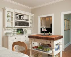 good looking butcher block kitchen island in kitchen traditional