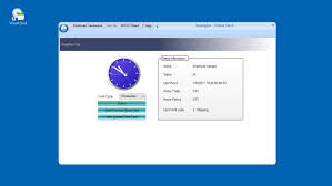 acroprint timeqplus software with virtual pc time clock