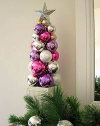 unique handmade christmas ornaments beautiful tabletop christmas trees decorating ideas designs