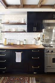 Black Cabinets In Kitchen 204 Best Kitchen Images On Pinterest Deco Cuisine Kitchen And