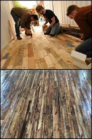 14 best pallet floor images on pallet wood flooring