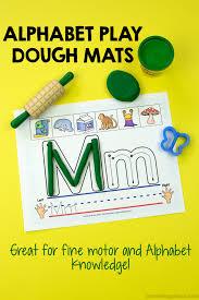 printable alphabet mat alphabet play dough mats with free printable included play dough