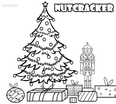 printable nutcracker coloring pages kids cool2bkids