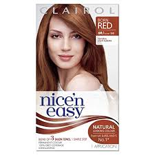 clairol nice n easy natural light auburn clairol nice n easy permanent hair colour 110 natural light auburn