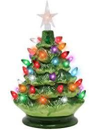 Ceramic Christmas Tree With Lights For Sale Christmas Trees Amazon Com