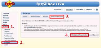 fritz repeater benutzeroberfläche fritzbox reset so setzen sie sie auf die werkseinstellungen