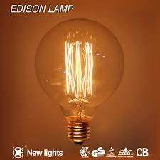 Edison Lights String by Decorative Edison Carbon Filament Light Bulb Vintage Light Bulb