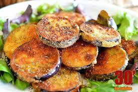 cuisiner aubergine poele aubergine panée au parmesan 30 minutes en cuisine