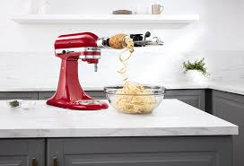 Kitchenaid Mixer Attachments Amazon by Amazon Com Kitchenaid Ksm1apc Spiralizer Attachment With Peel
