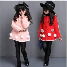 new sale girls autumn winter clothes coats outwear children