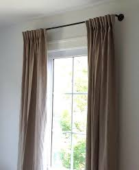 Umbra Bay Window Curtain Rod Diy How To Make A Copper Pipe Curtain Rod For 35 Remodelista