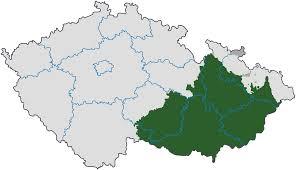 Map Of Czech Republic Regions Of The Czech Republic