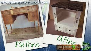 Repurposed Furniture Before And After by Before And After Antique Buffet Into Bar Cabinet Reuse