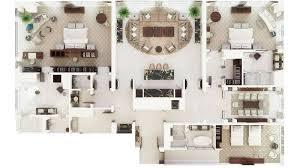 Dubai House Floor Plans Presidential Suite In Dubai At The Westin Dubai Hotel