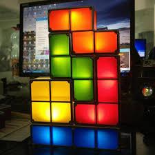 tetris puzzle light led constructible b lock desk decorative lamp