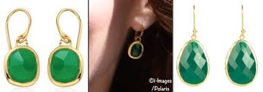 green earrings earrings what kate wore