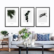 living room prints wall pictures for living room home decoration nordic tropical cactus