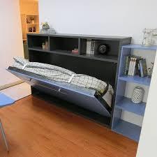wholesale single size horizontal wall bed storage folding bed