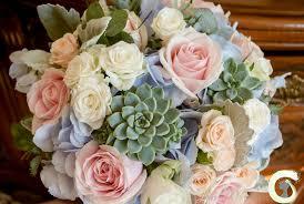 Blue Wedding Flowers Blush Pink Wedding Flowers The Monastery Laurel Weddings