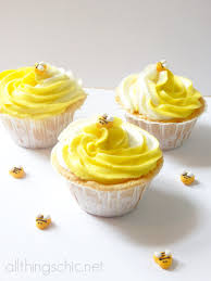 bumble bee cupcakes bumblebee cupcakes with almond swirl frosting jpg