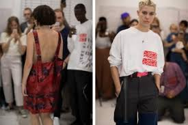 some ware u0027s fashion week debut brings out the cool kids