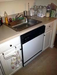 ge under sink dishwasher under the sink dishwashers kitchenaid under the sink dishwasher