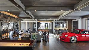 designing a garage mick de giulio s garage garages pinterest open concept and barn