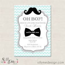 tips mustache baby shower invitations graceful appearance for