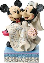 disney parks minnie mickey mouse groom porcelain