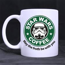 amazon com may the froth be with you star wars mug custom 11 oz