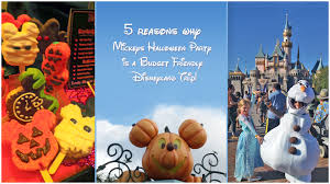 mickey u0027s halloween party budget friendly option