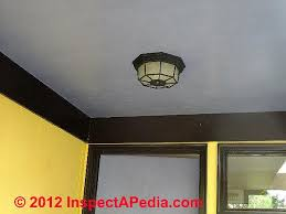 outdoor under eave lighting exterior lighting installation inspection troubleshooting repair