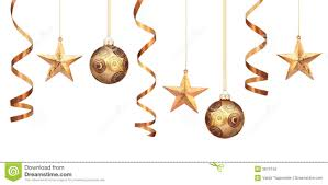 gold decorations stock photo image of hanging 3679742