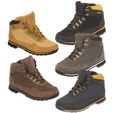 mens la gear ankle boots lace up combat shoes hiking walking trail