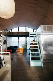 quonset hut interior design springtechture h by shuhei endo