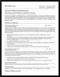 Sample Resume For Accounts Receivable Clerk Resume Cad Designer Resume