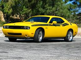 Dodge Challenger Accessories - dodge challenger rt classic yellow and black bikes and cars