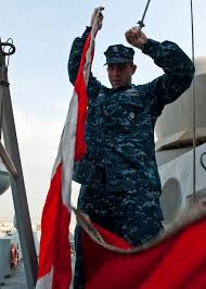 Us Navy Signal Flags File Flickr Official U S Navy Imagery A Sailor Raises Signal