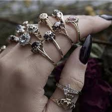 vintage crystal rings images 20 best exclusive vintage by regal rose images jpg